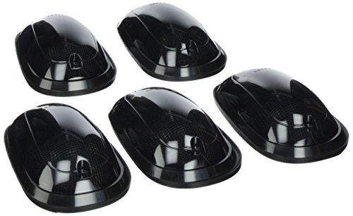 Recon 264146BK Smoked Cab Roof Lights 2003-2007 Dodge Heavy-Duty 2500 & 3500 (5-Piece Set)