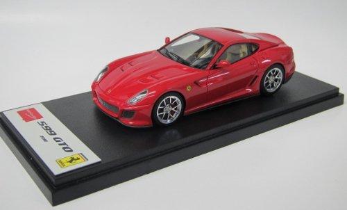 1/43 フェラーリ 599GTO レッド(ノーマルディフューザー) メッキホイール EM216F2