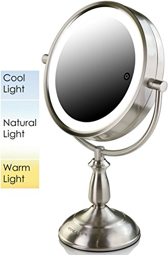 Buy cordless lighted makeup mirror