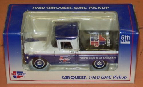 Limited Edition Die Cast Car Quest Auto Parts 1960 Gmc Pickup Truck 5Th In A Series Lockable Coin Bank By Spec Cast