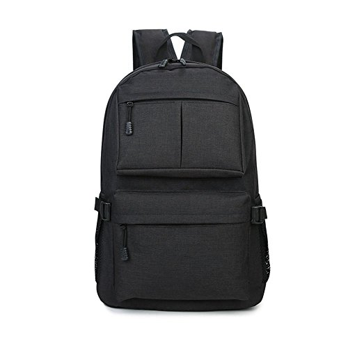 Abaobaoa-001 Laptop Backpack For Women, Large Capacity Travel Hiking School Bag, Backpacks For Girls, Black