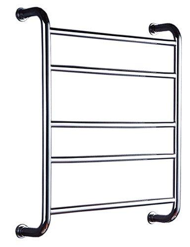 Sursy Plataforma de Vidrio/Calefactor de Toallas, Contemporáneo Espejo Pulido Montura de Pared,