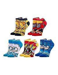 Capcom - Mega Man - Robot Ankle Socks - 5 Pairs