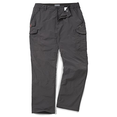 Craghoppers Men's NosiLife Cargo Trousers, Bark, W36/R31 from Craghoppers