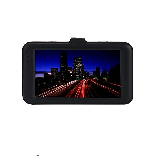 Car Dash Cam KKGG Backup Dashboard Digital Camera Recorder 1080P 3.0'' HD Tachograph Vehicle Video Rear View Reversing Driving Camcorder Parking Monitor Loop Recording Night Vision G-Sensor ()