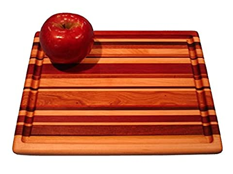 Lucky Stripes Collection Medium Cutting Board - Random Hardwoods