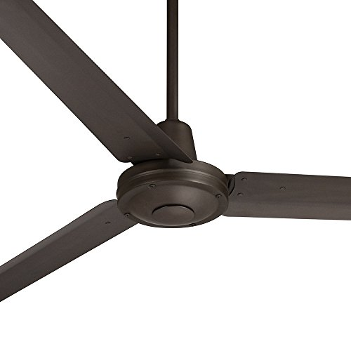 "60"" Casa Vieja Turbina Oil-Rubbed Bronze Ceiling Fan"