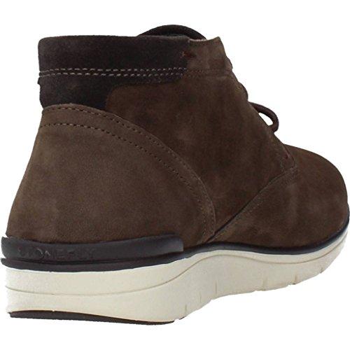 STONEFLY 105900 zapatos marrones mediados botas de cordones de cuero hombre Marrone