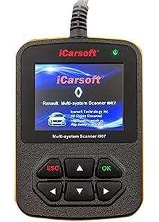 iCarsoft i907 - Dispositivo de diagnóstico para el coche.