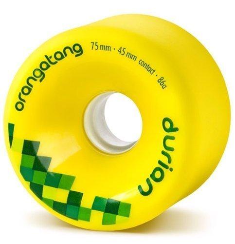 アッパースリンクネコLoaded(ローデッド) ウィール ORANGATANG DURIAN/Yellow-75mm/86A [並行輸入品]