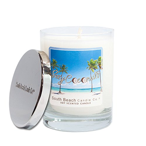 South Beach Candle Company Sexy Coconut (Best Beach Scented Candle)