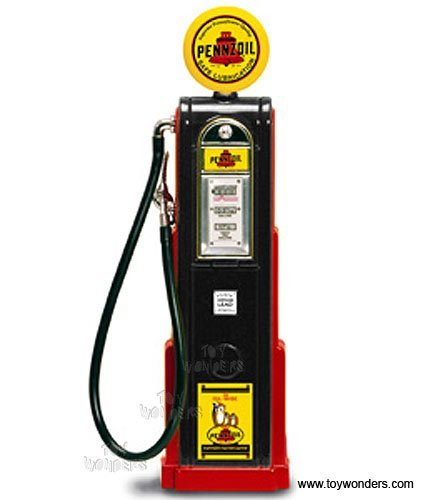 - Yatming - Digital Gas Pump Pennzoil (1/18 scale diecast model, Black) 98791 diecast motorcycles and cars