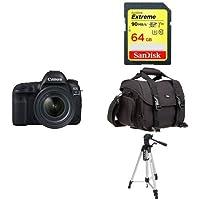 Canon EOS 5D Mark IV Full Frame Digital SLR Camera with EF 24-70mm f/4L IS USM Lens Kit + Accessory Bundle