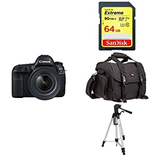 Canon EOS 5D Mark IV Full Frame Digital SLR Camera with EF 24-70mm f/4L IS USM Lens Kit + Accessory Bundle (B075X79G85) | Amazon price tracker / tracking, Amazon price history charts, Amazon price watches, Amazon price drop alerts