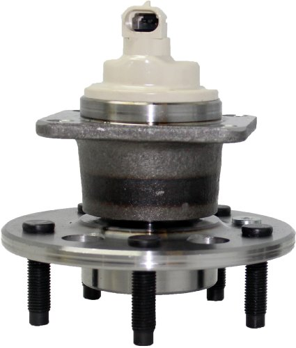(New Rear Wheel Hub and Bearing Assembly 5 Lug FWD W/ABS for [Impala, Grand Prix, Allure, Regal, Monte Carlo][FWD Aztek, Uplander, Relay, Montana, Venture])