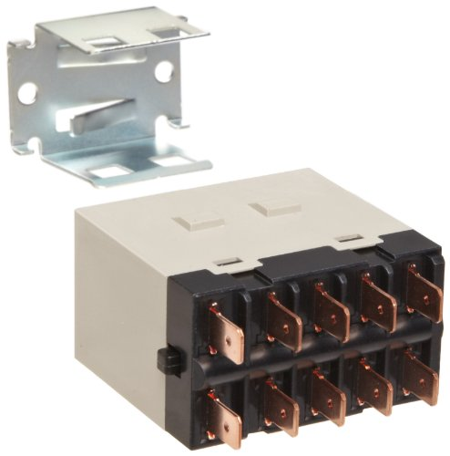 (Omron G7J-3A1B-T-W1 AC200/240 General Purpose Relay With Mounting Bracket, Quick-Connect Terminal, W-Bracket Mounting, Triple Pole Single Throw Normally Open and Single Pole Single Throw Normally Closed Contacts,  9 to 10.8 mA Rated Load Current, 200 to 240 VAC Rated Load Voltage )