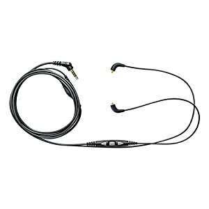 Shure CBL-M+-K-EFS Music Phone Cable with Remote + Mic (Three-Button Control)