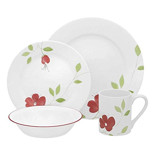 Corelle Garden Paradise 16pc Dinnerware Set (Garden Paradise Corelle compare prices)
