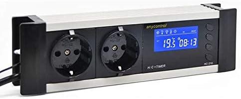 Ocs Tec Digitaler Thermostat Thermoregler Temperaturregler Controller Zeitschaltuhr Alarm Heiz Kühlsteuerung Reptilien Terrarium Tmt 100 Pro Tx1 Haustier
