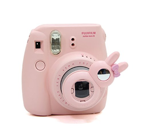 [Fujifilm Instax Mini 7s 8 8+ 9 Selfie Lens] -- CAIUL Rabbit Style Instax Close Up Lens with Self-portrait Mirror for Fujifilm Instax Mini 8 8+ 9 7s Camera and - Hello Lens Kitty