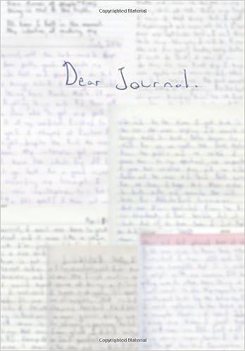 Dear Journal.