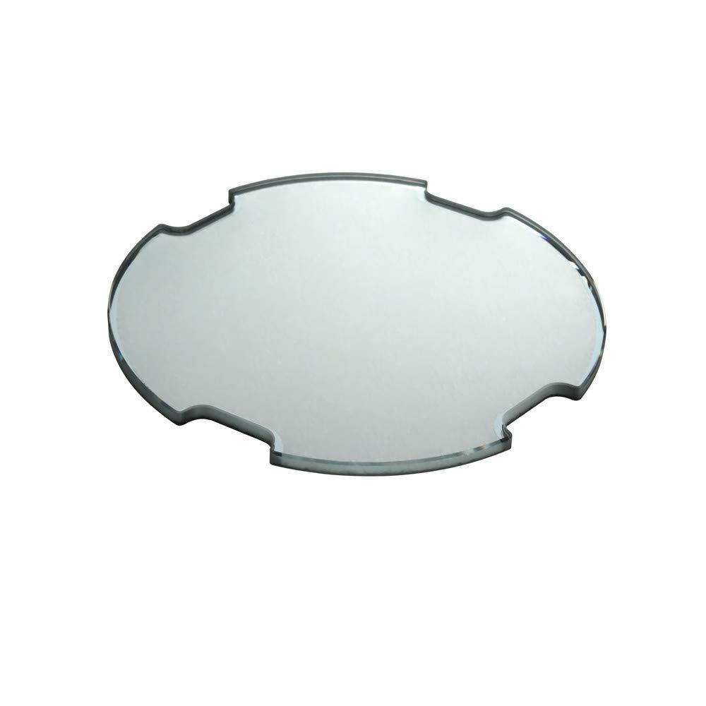 Mineral Crystal Glass for Diesel Mr Big Daddy Chronograph Man Watch DZ7395 7370 (Transparent)