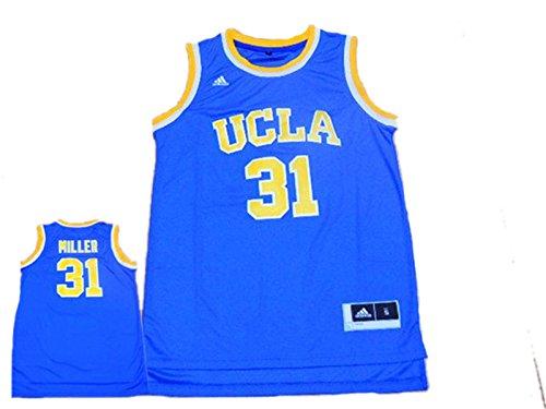 UCLA Bruins 31 Reggie Miller Blue Basketball Jersey (Reggie White Jersey)