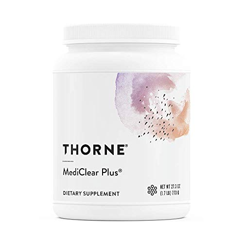 Thorne Research - MediClear Plus - Detox, Cleanse, and Weight Management  Support - Rice and Pea Protein-Based Drink Powder with a Complete