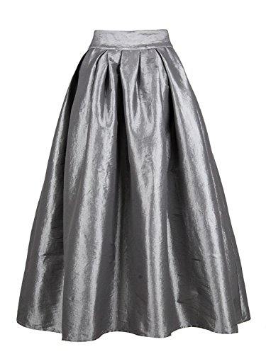 Choies Womens Pocket Pleated Skater