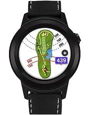 Golf Buddy Aim W11 Golf GPS Smartwatch, Zwart, One Size