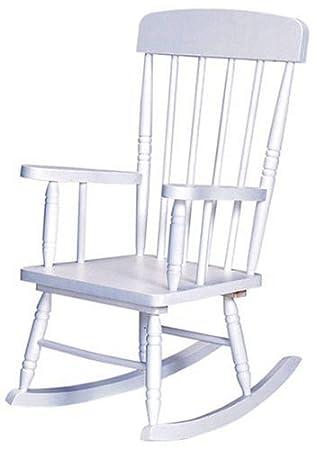 Kidkraft Spindle Rocking Chair   White