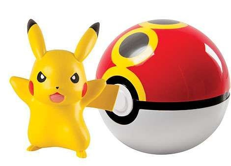 Pokemon Clip And Carry Poke Ball With Pikachu - 5