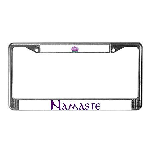 license plate frame buddha - 3