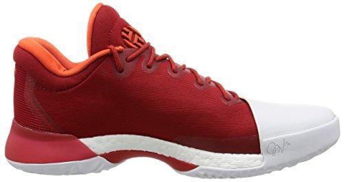 adidas Hombre Zapatillas Baloncesto para Orange Brique 1 Harden de Blanc Foncã© Vol Rouge R0Zrwq4FZ