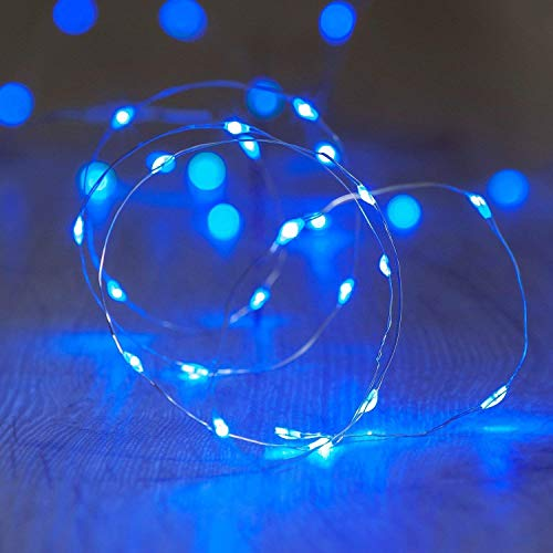 fairy light battery blue - 8