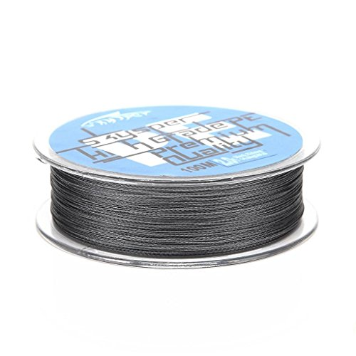 Skysper174; Fishing Line Super Strong Braided Sea Fishing Fish Line 100M 33lb,0.26mm Grey For Sale
