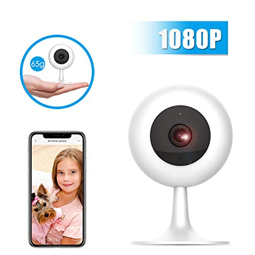 MI Wireless Security Camera 1080P, Xiaomi Smart Home WiFi Camera Surveillance System for Baby Parent Pet Monitor,Two-Way Audio,Night Vision,Motion Detection,Remote View,2.4GHZ WiFi,NO TF Card by ANRAN