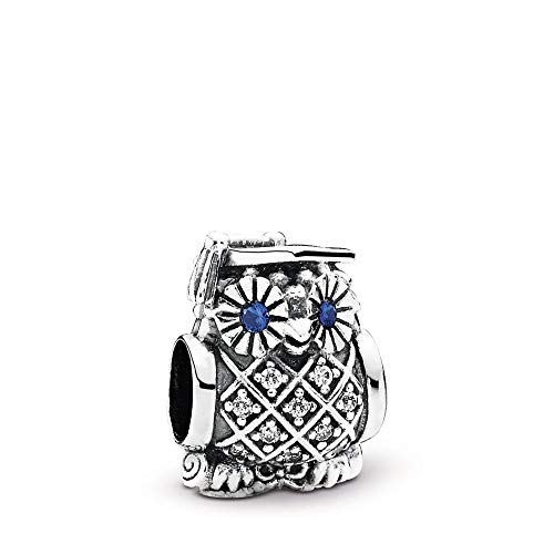 - Pandora Women's 791502nsb Graduate Owl Charm