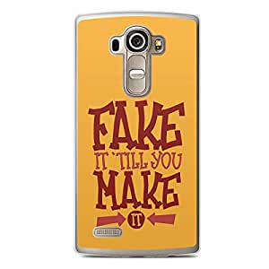 Fake It LG G4 Transparent Edge Case