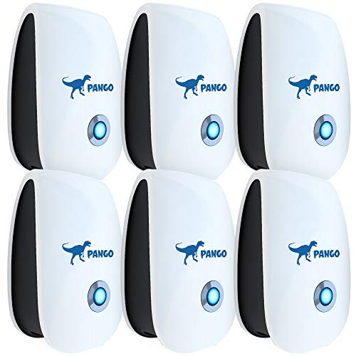 Ultrasonic Pest Repeller | Best Pest Control Ultrasonic Repellent - Set of 6 Electronic Pest Control - Plug in Home Indoor Repeller - Pest Reject - Get Rid of Mosquitos, Insects, Cockroaches, Spiders