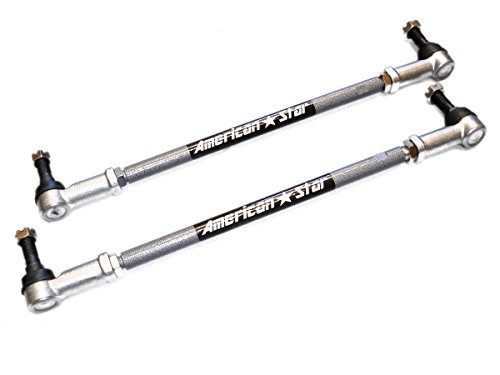 American Star 4130 Chromoly Steel ATV Tie Rod Upgrade Kit For Honda Rincon 650-680 03-10 - See Other Fitments In (650 Atv)