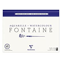 Clairefontaine Watercolour 300g Block 24x30cm ROUGH - 25 sheets