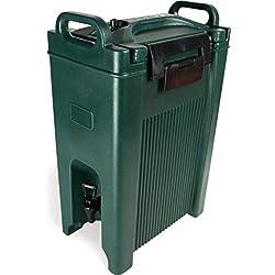 Carlisle XT500008 Cateraide Insulated Beverage Server Dispenser, 5 Gallon, Forest Green
