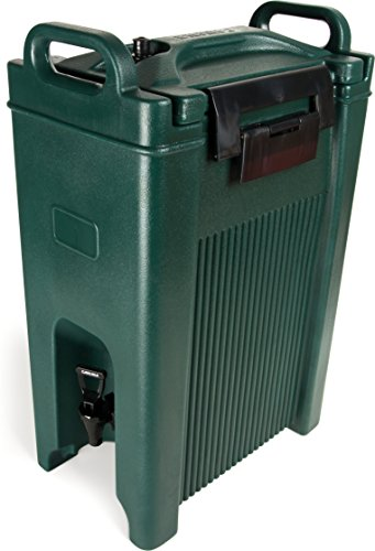 Carlisle XT500008 Cateraide Insulated Beverage Server Dispenser, 5 Gallon, Forest Green by Carlisle