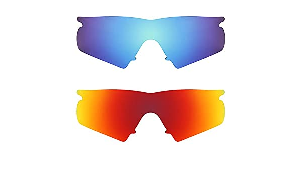 806b859ba3 Revant Replacement Lenses for Oakley M Frame Hybrid 2 Pair Combo Pack K002  at Amazon Men s Clothing store