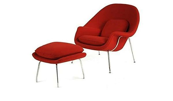 Fine Amazon Com Mid Century Saarinen Style Womb Chair And Machost Co Dining Chair Design Ideas Machostcouk