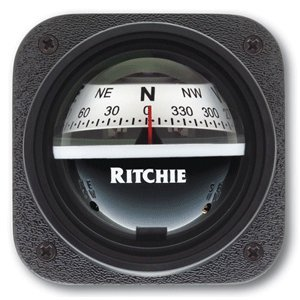 Explorer Bulkhead (Ritchie V-537W Explorer Compass - Bulkhead Mount - White Dial)