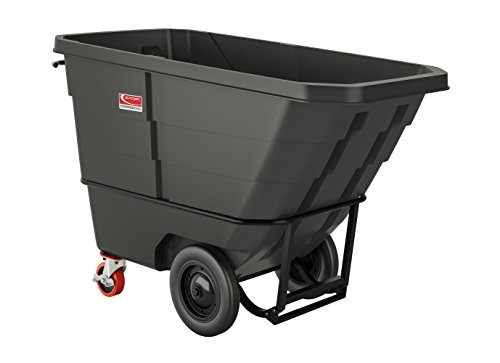 Suncast Commercial Towable Heavy Duty Roto Molded Tilt Truck, 1 cu. yd. - 1 Cu Yd Tilt Truck