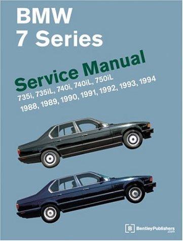 BMW 7 Series (E32) Service Manual: 1988-1994 ()