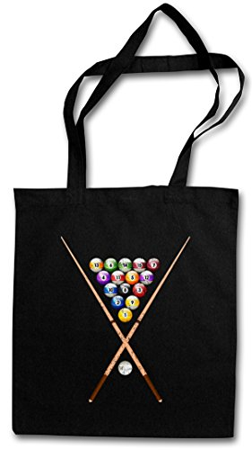 POOL BILLARD II HIPSTER BAG �?Bola de billar Eightball 8 Ball Gamble Player Shirt Rockabilly Tattoo 50s Gambling Snooker